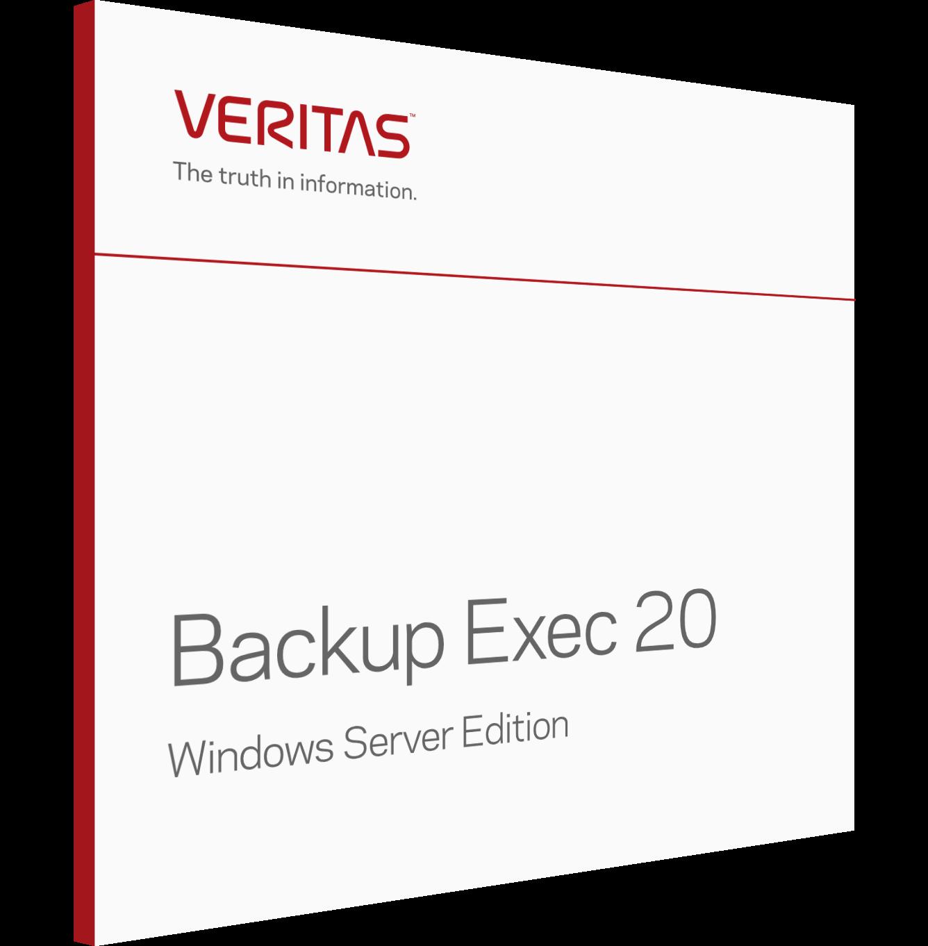 Veritas Backup Exec 20 Windows Server Edition Enespa