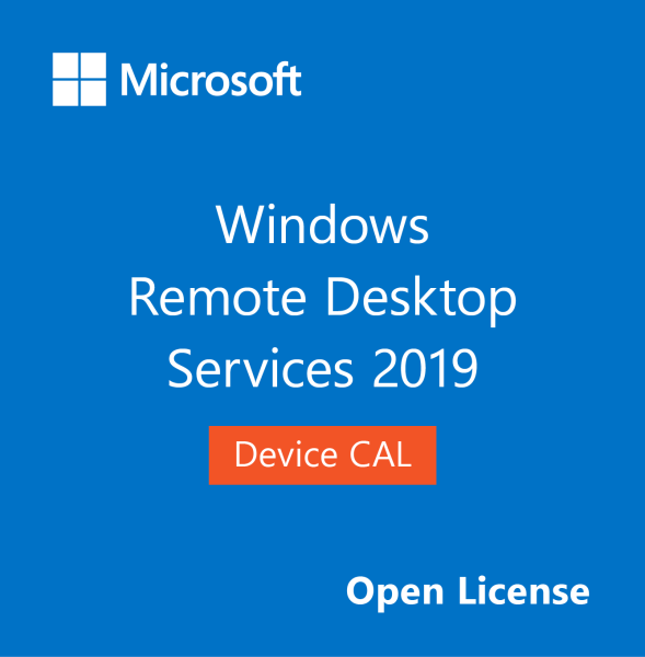 Microsoft Windows Remote Desktop Services 2019 Device CAL (Open License)