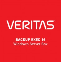 Veritas Backup Exec 16 Windows Server Box