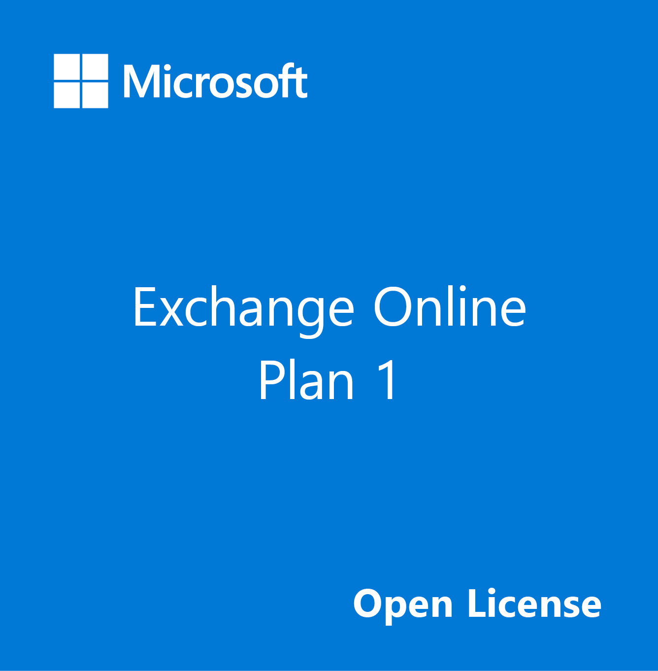 microsoft office exchange online plan 1