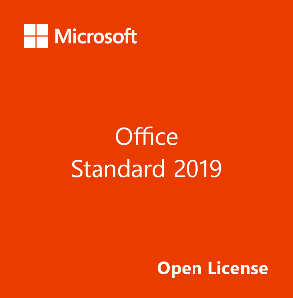 Microsoft Office Standard 2019 (Open License)