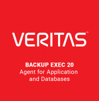 Veritas Backup Exec 20 Agent for Application & Databases